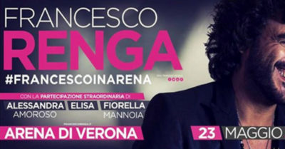 Fiorella tra gli ospiti del concerto evento all'Arena di Verona