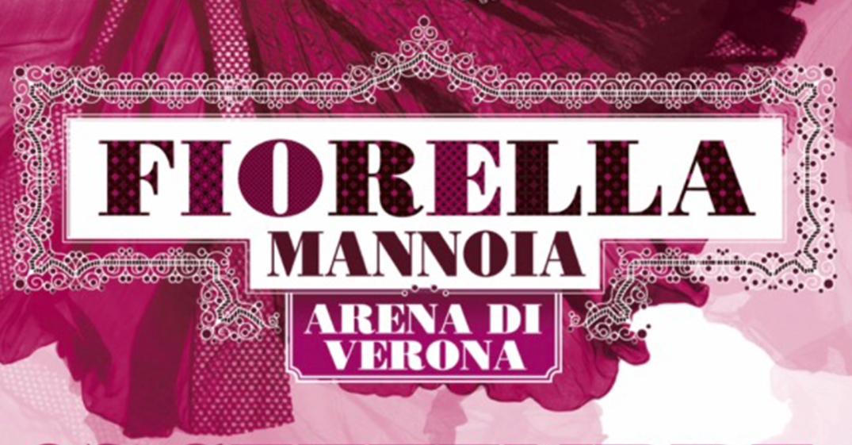 Fiorella, concerto evento all'Arena di Verona il prossimo 7 Settembre