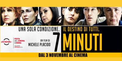Fiorella tra le protagoniste del nuovo film di Michele Placido, 7 Minuti