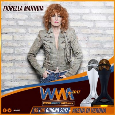 Wind Music Awards 2017, Fiorella tra i premiati!