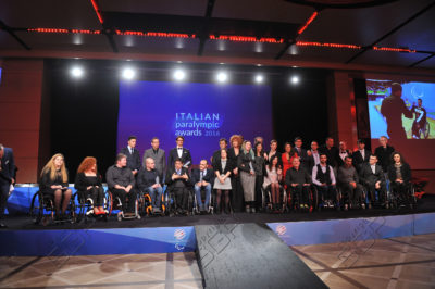 Fiorella premiata agli Italian Paralympic Awards