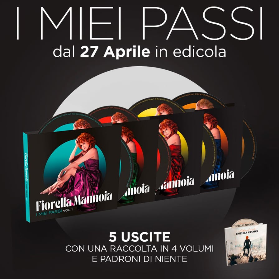 """""""I MIEI PASSI"""" dal 27 aprile un'antologia da collezione in 5 volumi"""